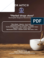 DR MITIC Herbal drops store Product catalog SRPSKI 31.03.2019