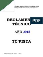 REGLAMENTO TECNICO 2018 - TC PISTA 4000.pdf