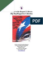 Guide to the Raquel Z Rivera Hip Hop Reggaeton Collection