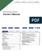 Denon AVR S930H Manual.pdf
