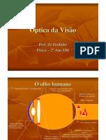 Física - Óptica da Visão