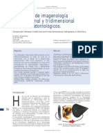 Artículo 2 Dr. Kelvin I. Afrashtehfar. Utilización de imagenología bidimensional y tridimensional con fines Odontológicos. 2012