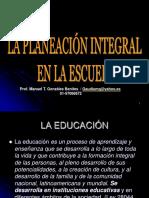 Planeación Integral en La Escuela