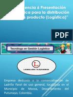 Presentación Logística Para La Distribución de Un Producto
