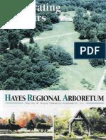 Hayes Regional Arboretum 40th Anniversary Brochure