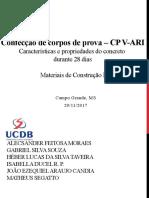 Apresentação sobre concreto - Materiais de Construção Civil