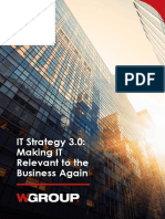 WGroup_IT Strategy 3.0 - Making IT Relevant to the Business Again