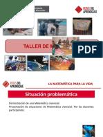 Ppt - II Taller Macroregional de Matematica -Julio 2013_final