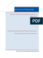 Conceptual Framework for Financial Reporting Chapter 8