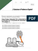 Parte 1 -Cómo Probar_ Solenoide TCC y Solenoide de Cambio a (Honda 2.2L, 2.3L)