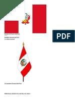 Bandera de Guerra Del Perú