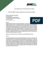 ARTICULO CARATERIZACION DE LA ETNOEDUCACION Y LA EDUCACION FISICA EN COLOMBIA.docx