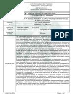 ESTRUCTURA MANIPULACIÓN DE ALIMENTOS Y BEBIDAS
