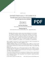 Estrés Prenatal y sus efectos. Aguirre.pdf
