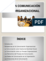 LA COMUNICACIÓN ORGANIZACIONAL