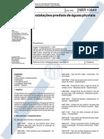 NBR 10844 - 1989 - Instalações prediais de águas pluviais - Procedimento.pdf