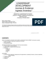 leadership inventory