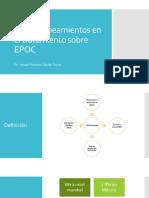 Nuevos lineamientos en tratamiento de EPOC