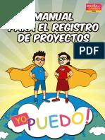 Manual Registro de Proyectos
