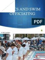 Ethics and Swim Officiating