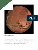 mars mission  1