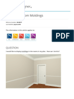 Assigning Room Moldings