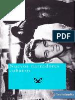 Nuevos narradores cubanos - AA VV.pdf