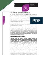 Draft Anticipatory Bail ApplicatioN