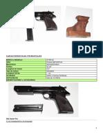 Características Pistolas