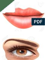 boca ojos