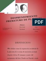 DESPRENDIMIENTO PREMATURO DE PLACENTA.pptx