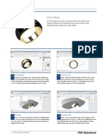 RhinoGold 4.0 - Level 1 - Tutorial 022P - Onix Ring