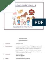8 UNIDAD DIDACTICA Nº 8  - animales.docx
