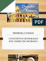 Derecho Romano 1
