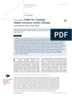 Pci and Cabg for Scad Jacc19