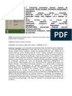 Evaluacion Psicologica Forense Jimenez Gomez Tomo 1