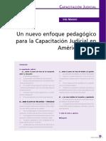 Nuevo enfoque pedagógica para la Capacitación Judicial.pdf