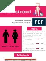 Artritis Idiopática Juvenil presentación
