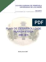 Plan Desarrollo Planta física