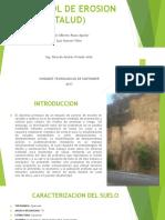 Control de Erosion (Talud)