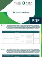 Terceros Autorizados Para Realizar El Estudio de PML 120218
