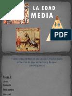 Presentacion de La Edad Media