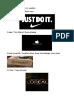 22 Empresas Con Eslóganes Muy Pegadizos