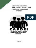 Estatuto Centro de Apoio à Pessoa Com Deficiência e Ao Idoso Capdei Revisado 15 02 2019 - Revisado 2