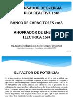 Compensador de La Energia Electrica Reactiva Presentacion 2018