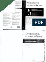 Maria Angela D'Incao_ Hermínio Martins - Democracia, Crise e Reforma, Estudos sobre a Era Fernando Henrique Cardoso 1(2010, Paz e Terra).pdf