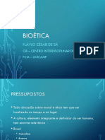 Bioética - Introdução 2016 Psicol