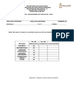 Examen Olimpida 2019 Finalfebrero22