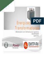 Energizacion de Transformadores
