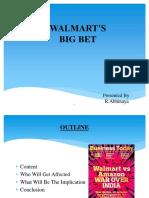 WALMART'S BIG BET.pptx